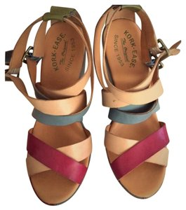Kork-Ease Multi color Wedges