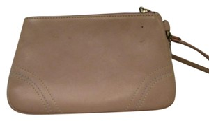 Coach COACH LEATHER WRISTLET WALLET