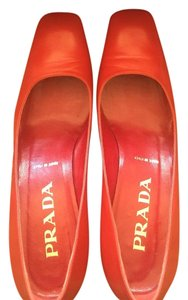Prada Red Pumps
