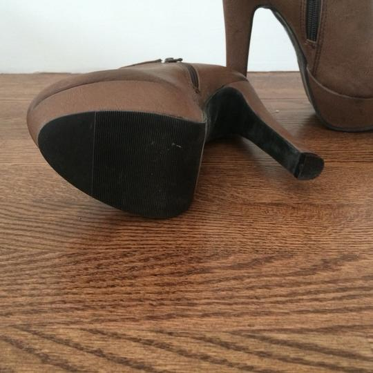 Forever 21 Light Brown Boots