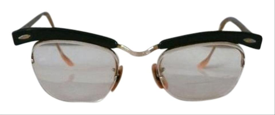 Bausch & Lomb Mid Century and Brow Line Glasses Frames 12k Gold ...