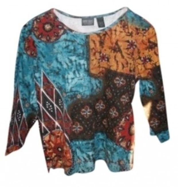 Preload https://item1.tradesy.com/images/chico-s-multicolor-pullover-casual-tee-shirt-size-8-m-18650-0-0.jpg?width=400&height=650