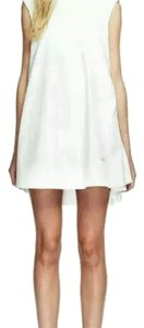 T by Alexander Wang short dress White on Tradesy