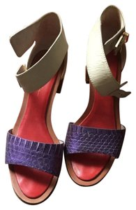 3.1 Phillip Lim Purple/silver Wedges