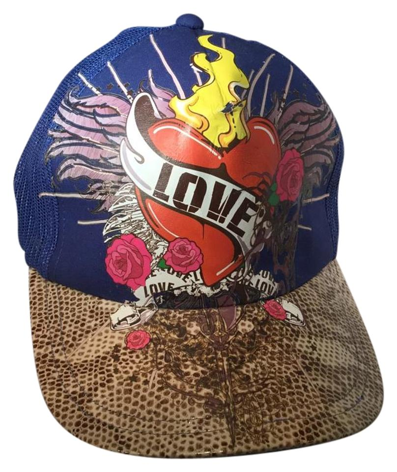 Nicole Mighty Designs Genuine leather brim custom one of a kind hat ... 353a32546f3