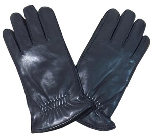 Fownes Leather gloves lined with fleece