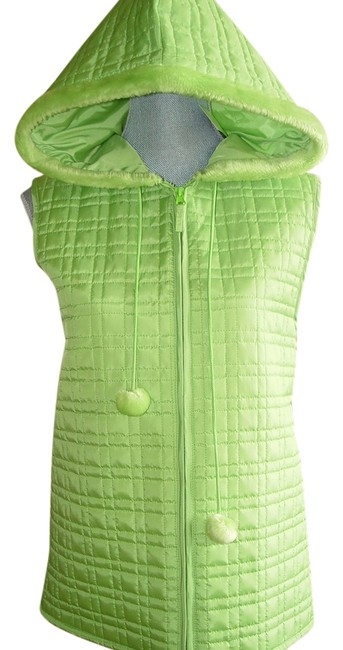 Preload https://img-static.tradesy.com/item/1865123/cynthia-rowley-green-quilted-vest-size-16-xl-plus-0x-0-0-650-650.jpg
