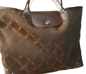 Longchamp Tote in Browns Signature