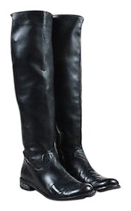 Stuart Weitzman Slouchy Knee High Black Boots
