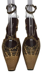 Stephane Kelian Bronze Sandals