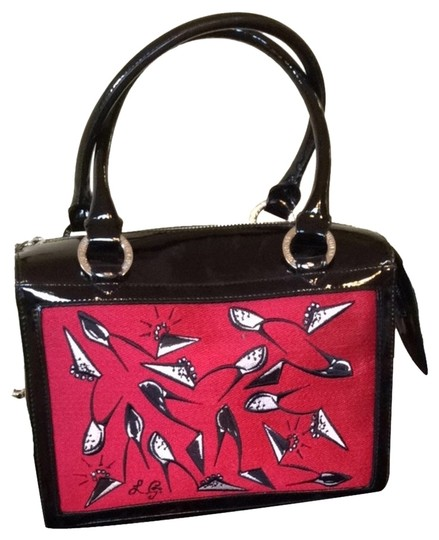 Preload https://item3.tradesy.com/images/lulu-guinness-828-109-605-embroidered-shoes-medium-carmen-handbag-black-patent-leather-and-canvas-fr-1865412-0-0.jpg?width=440&height=440