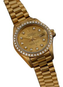 Rolex Rolex Ladies President Datejust, 69178 - 18K Gold & Diamonds