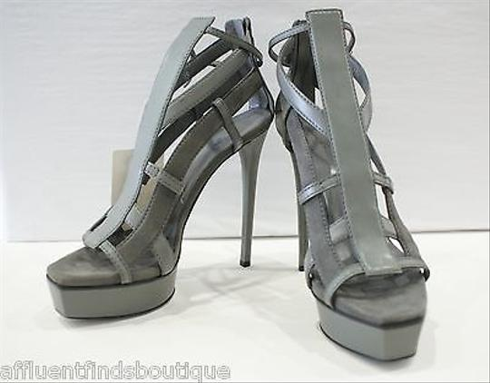 Gucci Daryl Heels Style 241464aem401211 Or Gray Platforms