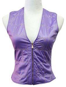 Versace Jeans Couture Purple Vest