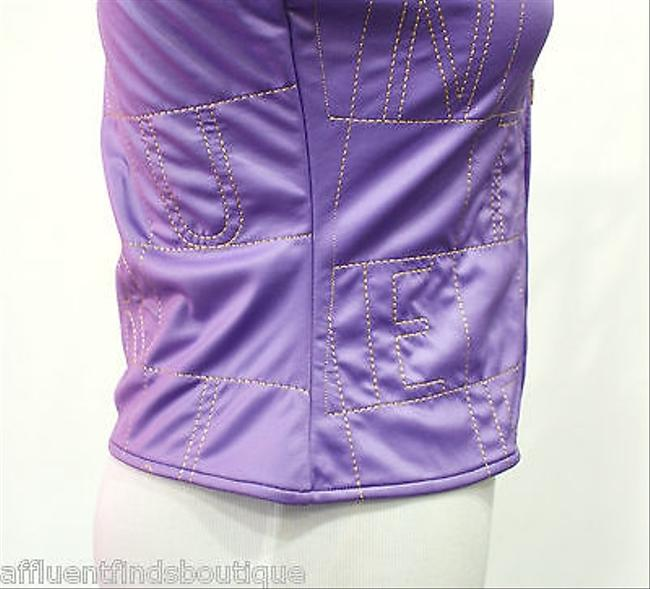 Versace Jeans Couture Gold Zippered Vest