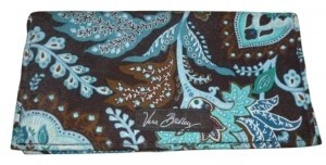 Vera Bradley Java Blue Checkbook Holder