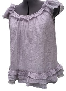 Xhilaration Top Lavender-grey