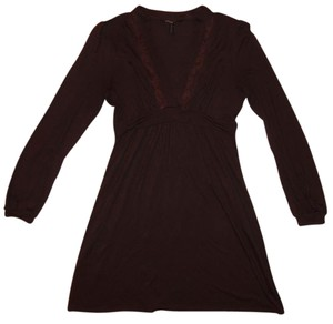 BCBGMAXAZRIA Longsleeve Rayon Dress