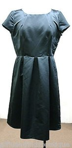 Armani Collezioni Slate Taffeta Party Dress