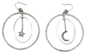 Juicy Couture Moon and Stars Earrings