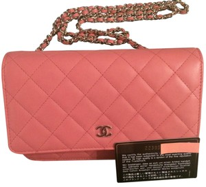 Chanel Cc Wallet On A Chain Woc Cross Body Bag