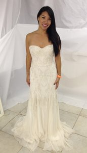 Monique Lhuillier One Of Kind (never Went Into Production) Wedding Dress