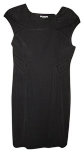 Helmut Lang Suture Embroidery Mesh Detail Dress
