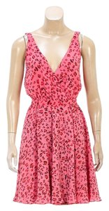 Erin Fetherston short dress Pink/Red on Tradesy