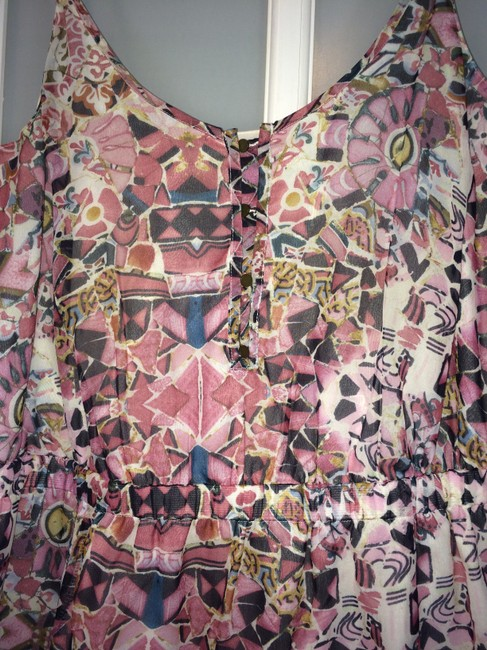 Other short dress Multi colored - pink, blue, white, pale yellow on Tradesy Image 1