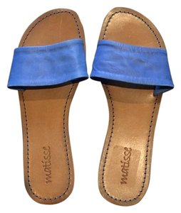Matisse Blue Sandals