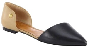 Tory Burch Black&tan Flats