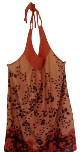 Xhilaration Peach/pink Halter Top