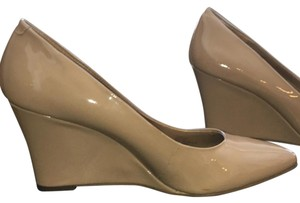 BCBGeneration Nude Wedges