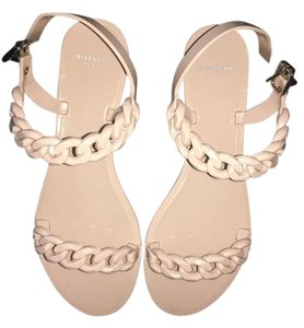 Givenchy Chain Jellies Nude Sandals