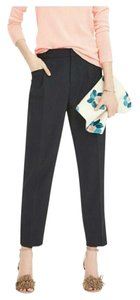 Banana Republic Career 12 Trouser Pants black & blue