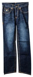 True Religion Women's Jean Boot Cut Jeans-Medium Wash