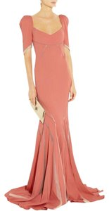 Zac Posen Satin Mermaid Dress