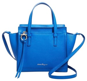 Salvatore Ferragamo Satchel in Indie Blue