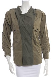 Isabel Marant Army Camo Top Army Green