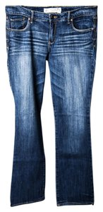Abercrombie & Fitch & Women's/junior's Perfect Stretch Boot Cut Jeans-Medium Wash