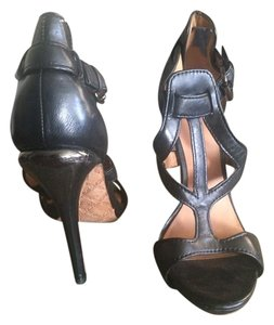 L.A.M.B. Leather Heels Black Formal