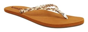 Reef Champagne Champagne Flip Flops Glitter Champagne/Tan Sandals