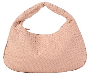 Bottega Veneta Bv.k0621.11 Intrecciato Woven Leather New Hobo Bag