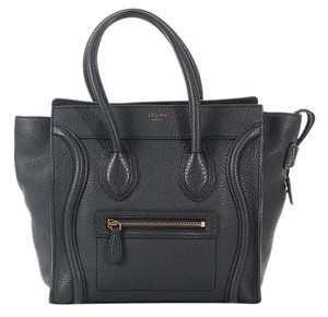 Céline New Pebbled Leather Tote