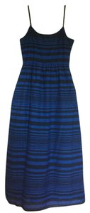 Blue stripe Maxi Dress by Gap Preppy Nautical