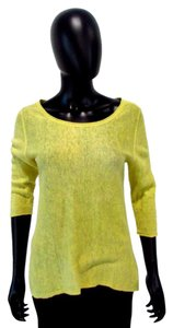 Eileen Fisher Top Yellow