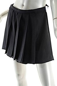 Item... 100 Polyester Mini Skirt Black