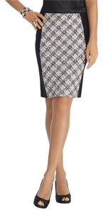 White House | Black Market Pencil Skirt Purple/White/Black