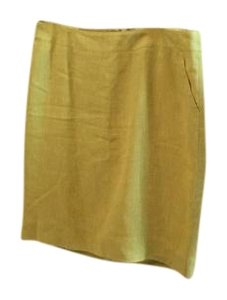 Merona Linen Summer Skirt Yellow