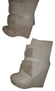 Juicy Couture Cream Boots